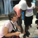 dzieci objęte adopcją SPN 74 5. - zakupy s. Ania
